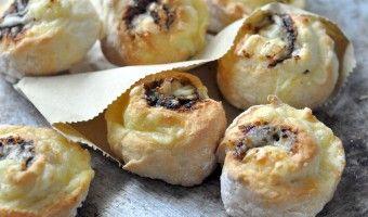 Savoury vegemite scrolls