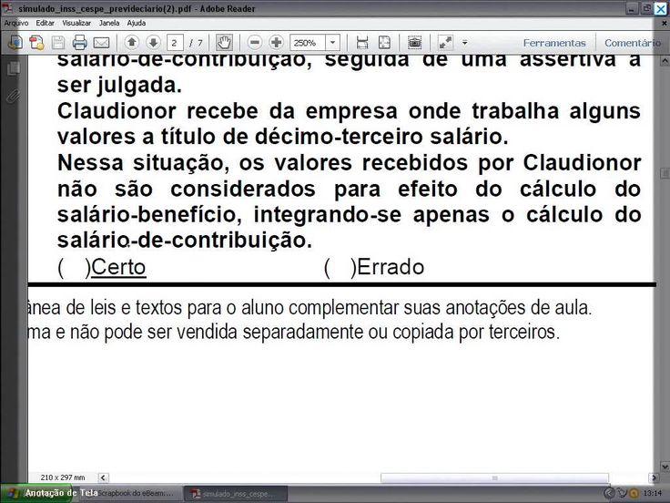 Professor Guilherme comenta Questões de Direito Previdenciário da CESPE!!!