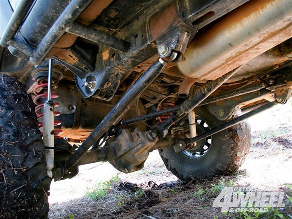 Check out James Randolf's 2003 Jeep Liberty featuring a Dana 30 and Dana 44 axle, custom four link suspension built by Cape Fear 4x4, a custom steering system, a V6 engine, and more inside 4-Wheel & Off-Road Magazine.