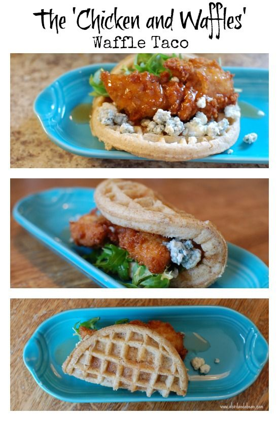 Chicken and Waffles' Waffle Tacos are delicious. The sweet and savory ...