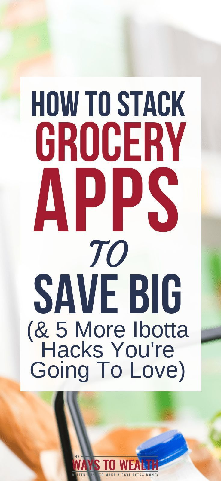 Discover how to use money saving grocery apps, like Ibotta