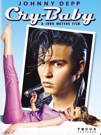 "Cry Baby - Gotta love Johnny Depp as a 50's ""High School Hellcat""!"