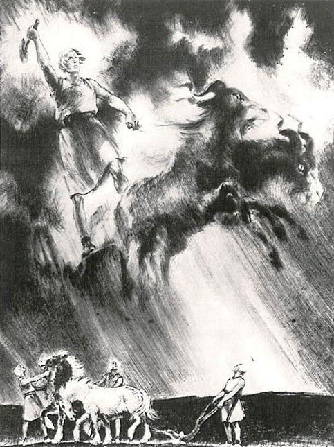 Classic Illustrations from Norse Mythology