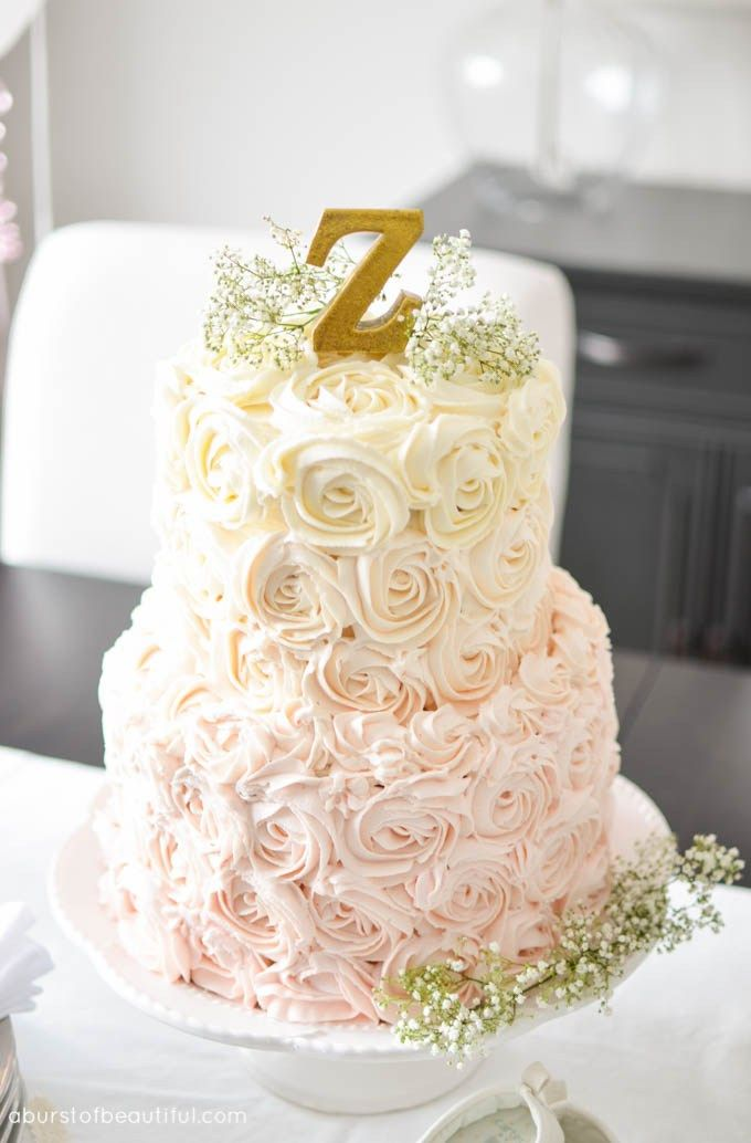 17 Best ideas about Rosette Cake Tutorial on Pinterest Frosting rose tutorial, Rose cake and ...