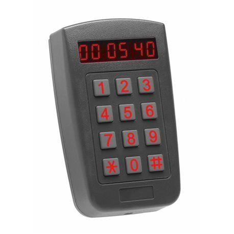 Cititor de proximitate stand-alone cu display, tastatura, de exterior, iluminat, max 500 utilizatori, alimentare 12-24V DC/ 16- REL-AYF66+071 Negociaza pretul pe OferteUnice Sisteme de securitate ieftine