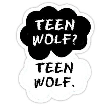 """Teen Wolf - TFIOS "" Stickers by Susanna Olmi | Redbubble"