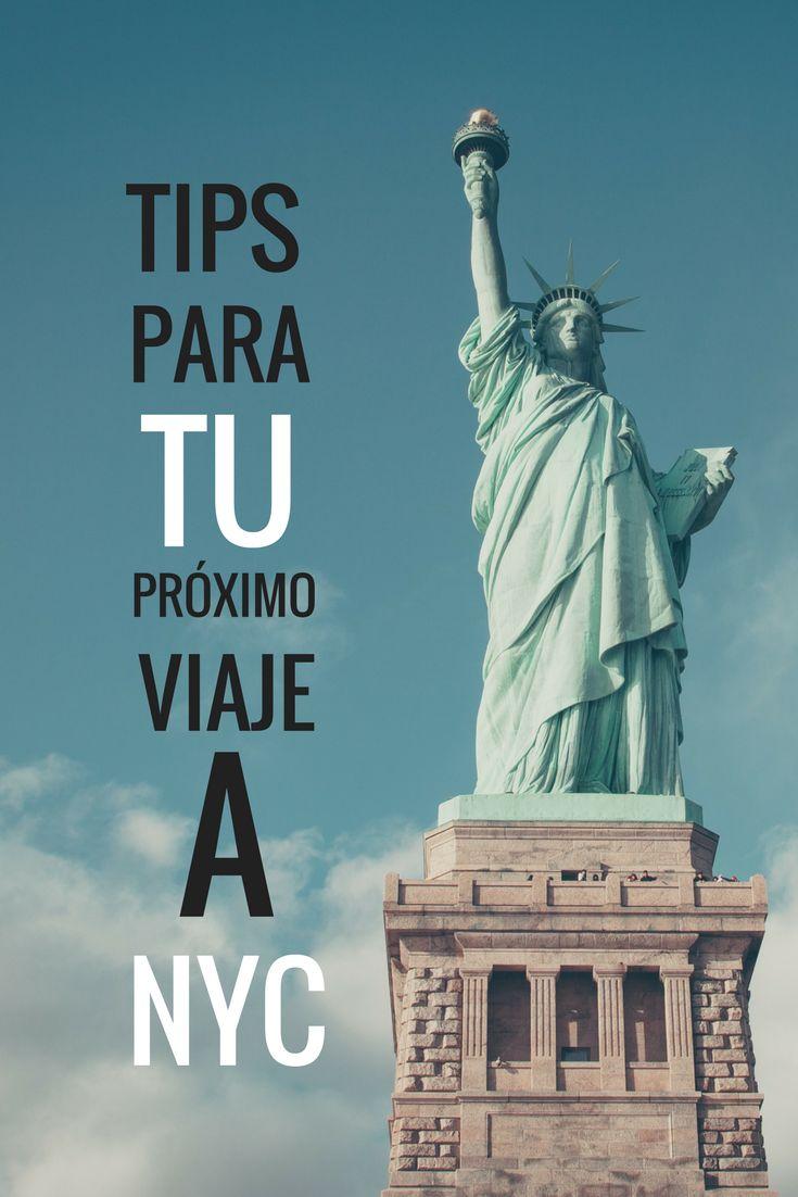 Todo lo que necesitas saber para planear tu próximo viaje a New York