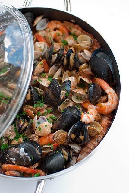 Brodetto di pesce alla riminese. #pasta #cibo #piatti #food #pensarecasa