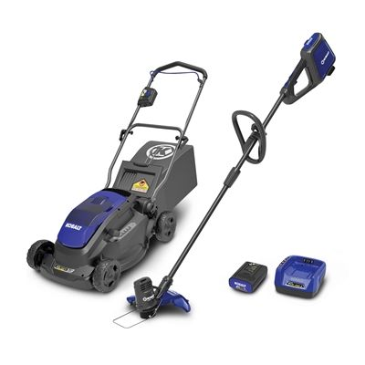 [$299 save 41%] [Lowe's][Lowes] Kobalt 40-Volt Electric Cordless Lawn Mower  Trimmer  Extra 2Ah battery Combo ... http://www.lavahotdeals.com/ca/cheap/loweslowes-kobalt-40-volt-electric-cordless-lawn-mower/194826?utm_source=pinterest&utm_medium=rss&utm_campaign=at_lavahotdeals
