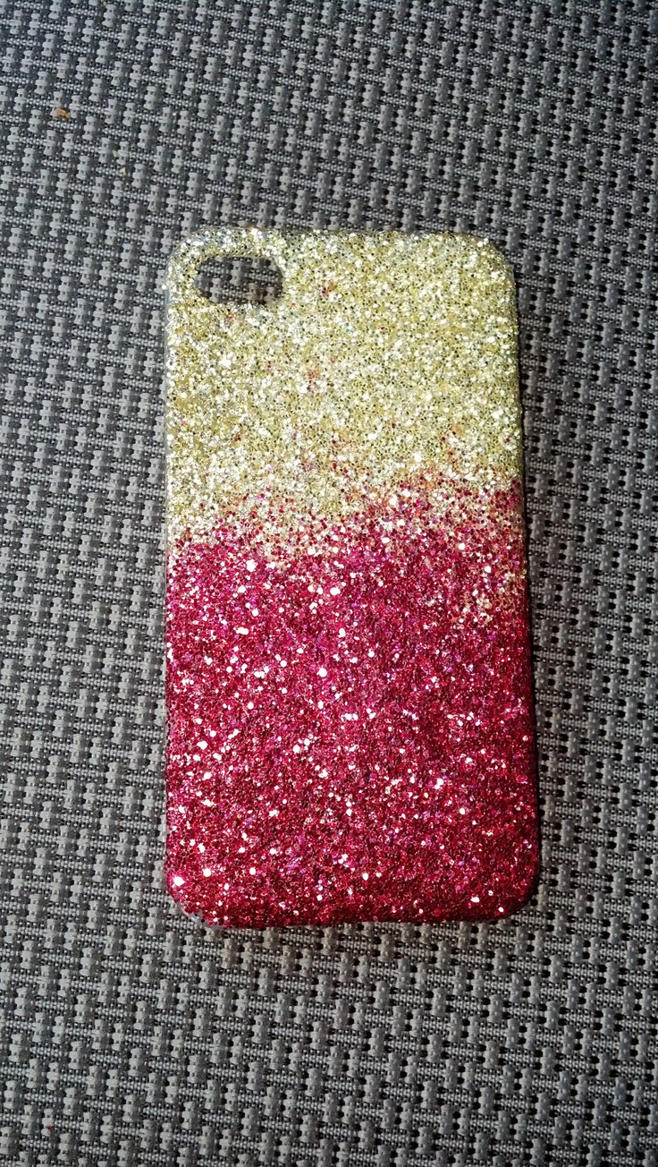 glitter iphone case 4 / 5 ombre phone case iphone 5 case. $15.00, via Etsy.