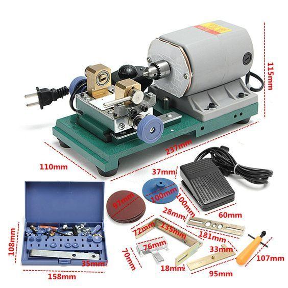 220v 350w taladro eléctrico holing herramienta de perforación de la joyería de la máquina Venta - Banggood.com