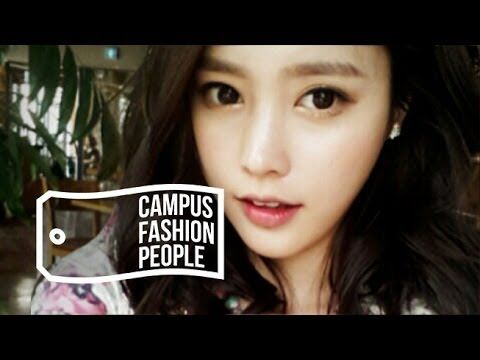Oh, that's my true style White on white CAMPUS FASHION PEOPLE 04. KOREA UNIV. GAM DA-IN(DA-IN'S 3 WHITE LOOKS/ 고...