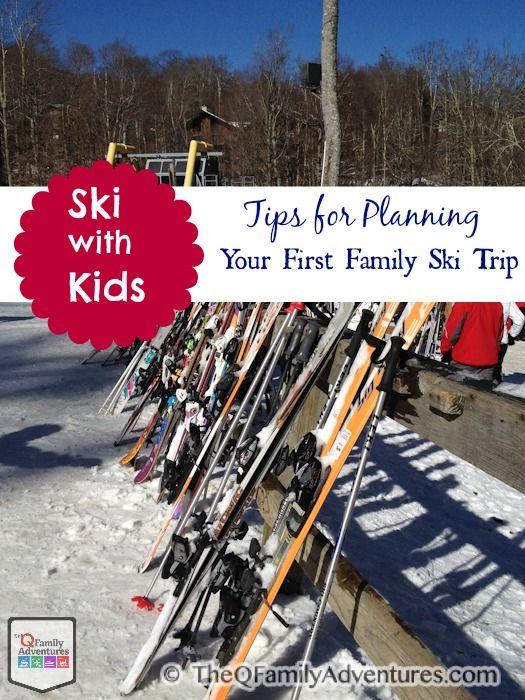 Tips for Planning Family Ski Trip for First-Timers #FamilyTravel #Ski
