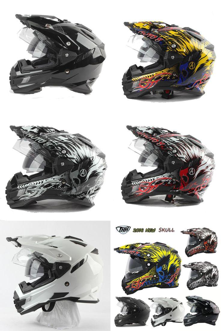 [Visit to Buy] motorcycle helmet brand THH TX-27 off-road cross helmet motocross atv mtb downhill moto helmet with dual visor capacete vespa #Advertisement