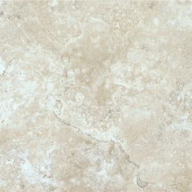 Style Selections 12 X 12 Chalk Marble Finish Vinyl Tile Item 213230