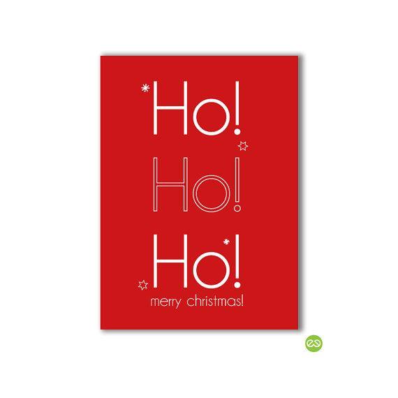 Kerst Ansichtkaart van VitamineCeNL op Etsy