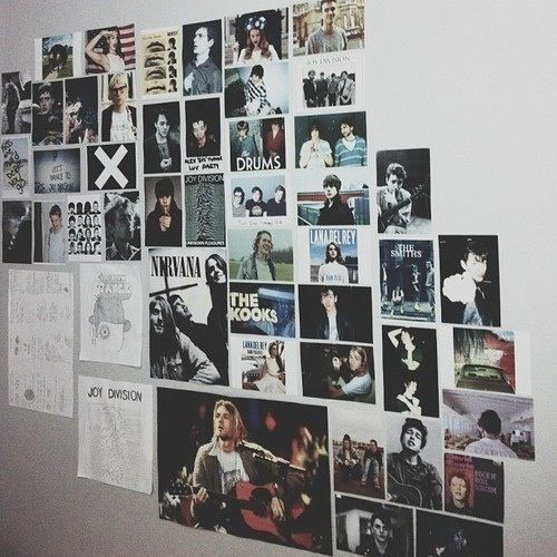83 best hipster emo poster room ideas images on pinterest Decorating walls with posters