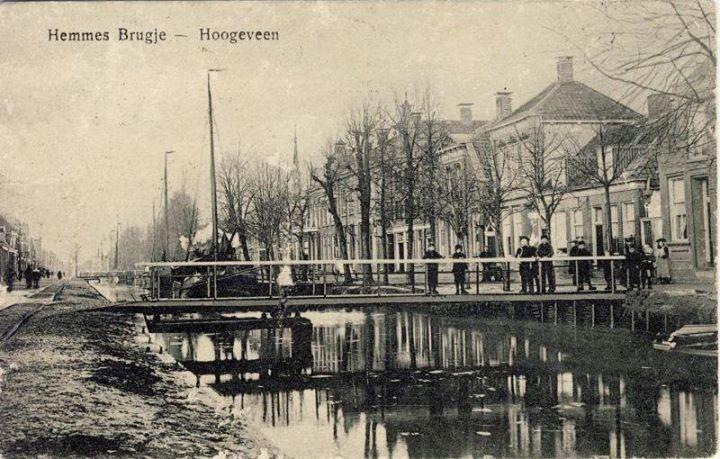 Hemmes brugje Hoogeveen