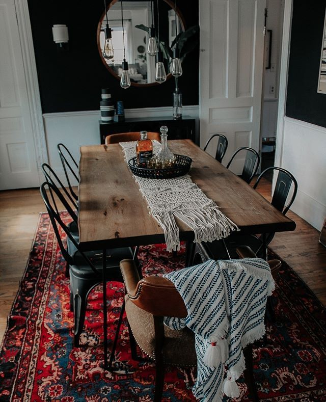 Pin By Crissie Bailey On Decor Dining Room Design Home Decor Eclectic Dining Room