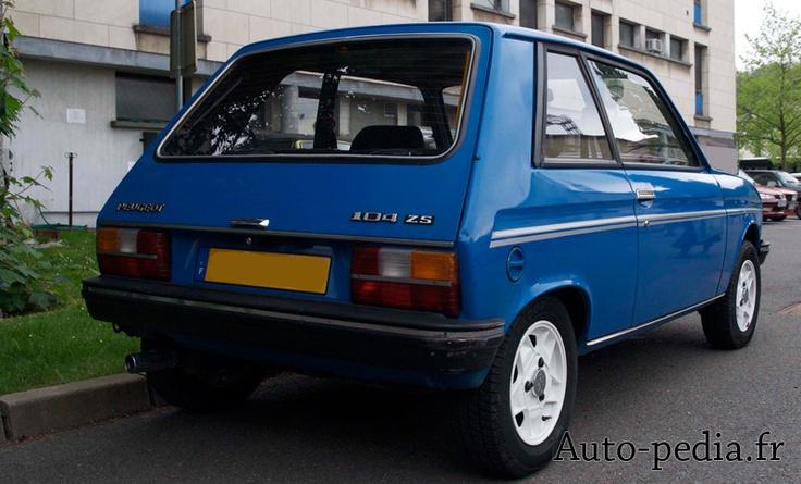 Car 15 a Peugeot 104 ZS