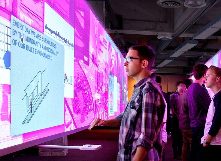 cal poly striptease interactive architecture exhibition