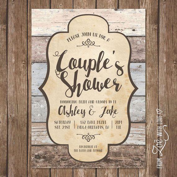 Best 25+ Couples Shower Invitations Ideas On Pinterest