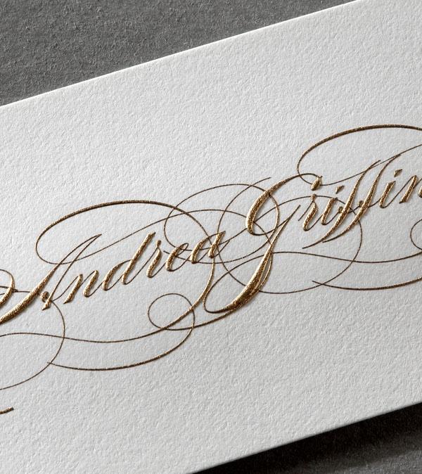 we love this print job and calligraphy art - beautiful artisan work!