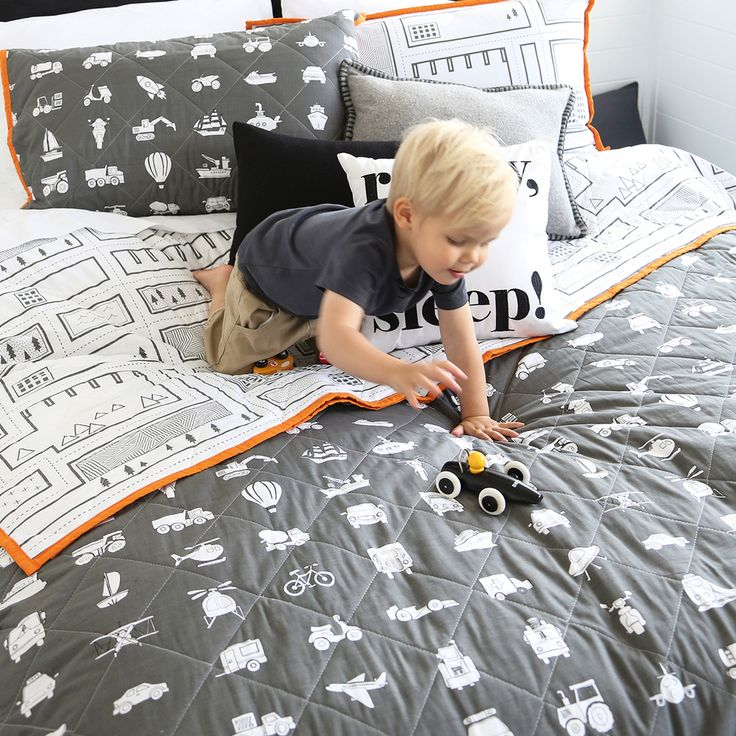 Toot Toot Coverlet Set
