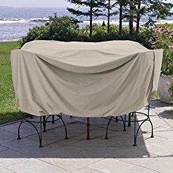 Weather Wrap Round Pub Height Table & Chairs Cover