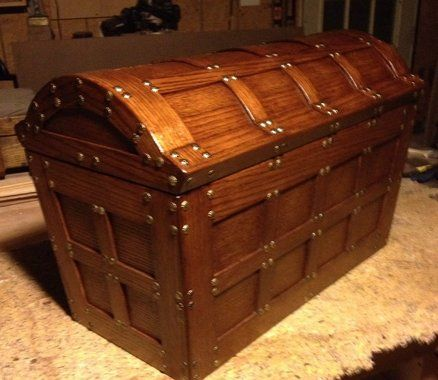 Treasure Chest Woodworking Plans Woodworking Projects