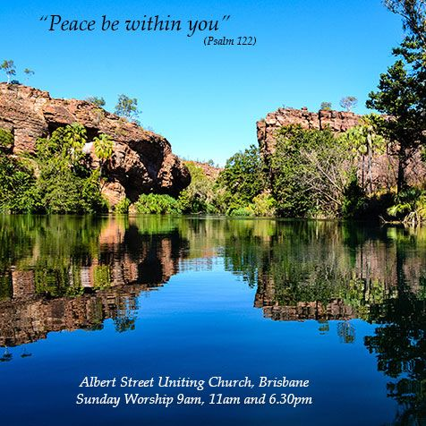 Peace be within you. We're a city church offering a quiet space to recharge from the busyness of the day.