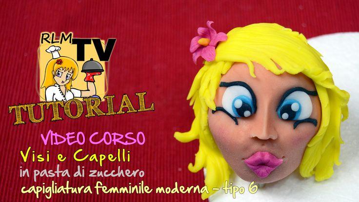 #VIDEO #CORSO: #Visi e #capelli in #pdz - Capigliatura femminile moderna - tipo 6