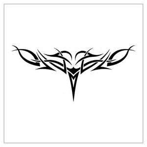 Tatuaje zona lumbar Simple Tribal Lower Back Tattoo Designs – Tattoos Arts
