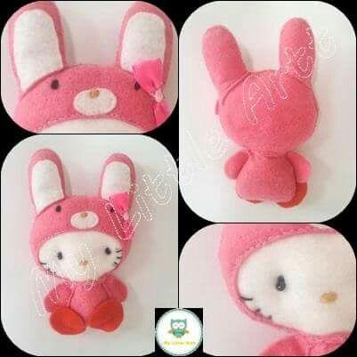 Filc - Hello kitty króliczek