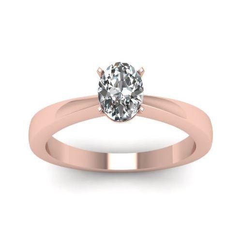 Diamantringe rosegold  Die besten 25+ Oval diamantringe Ideen auf Pinterest | Ovale ...