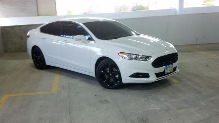 Ford Fusion Black Rims >> Ford Mustang 2015 Black Rims My Custom 2013 Ford Fusion Pt 2