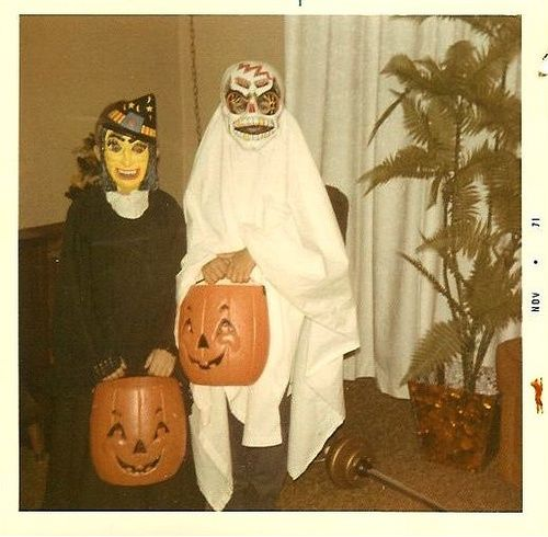 Halloween, 1971 - I had this witch mask!!