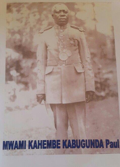 S.M le Mwami Kahembe Ka Bugunda de Bukumu au Nord-kivu