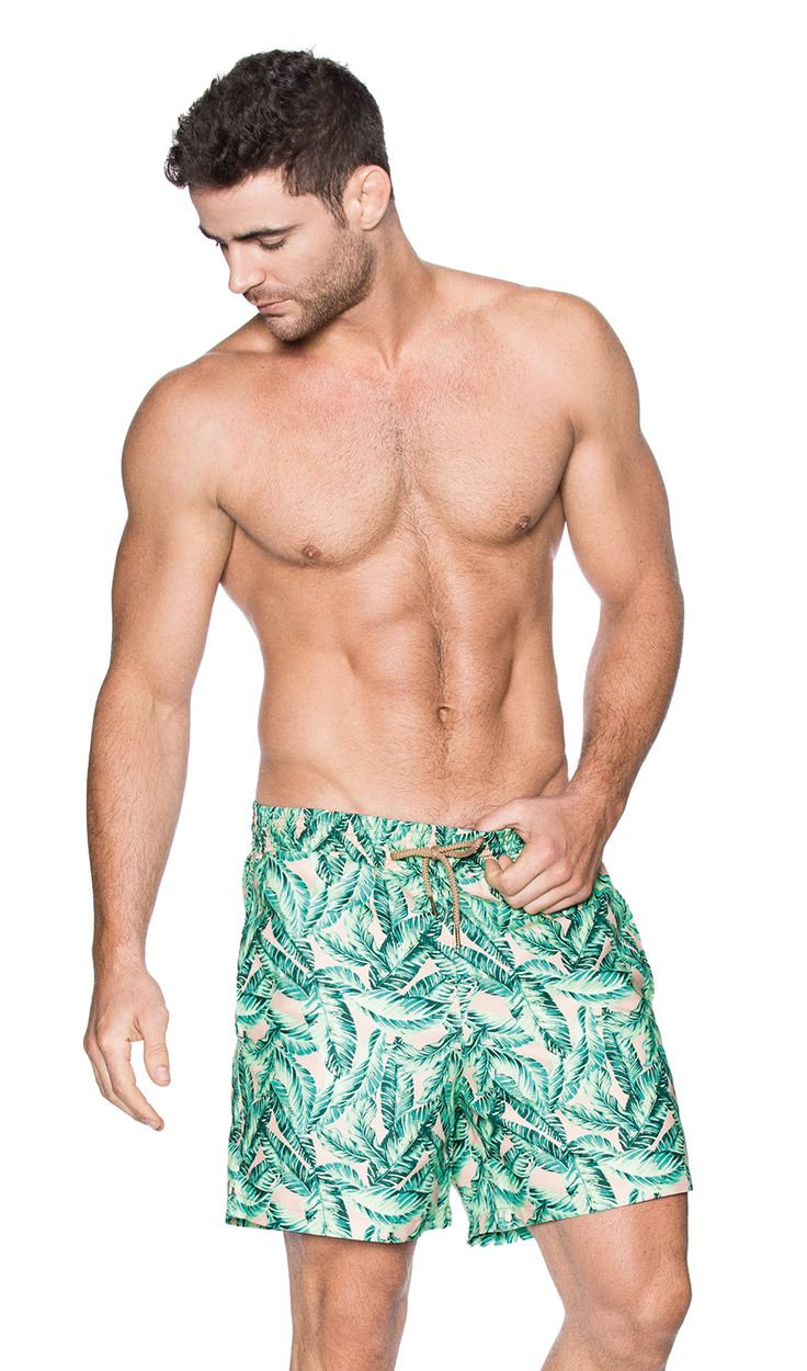 Mens Swimwear On Sale, Pale Rose, polyester, 2017, M Etro