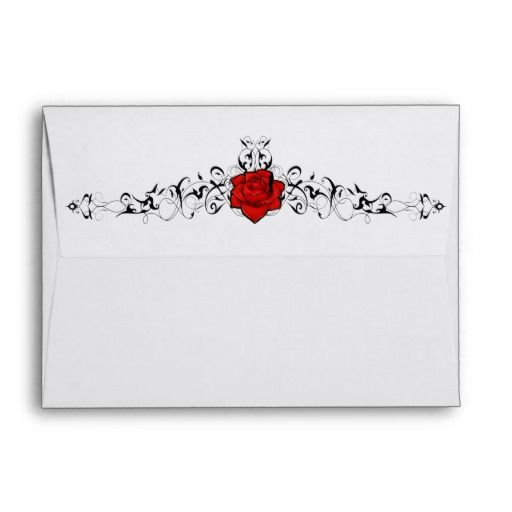 Rose Vine Enevolope Envelopes