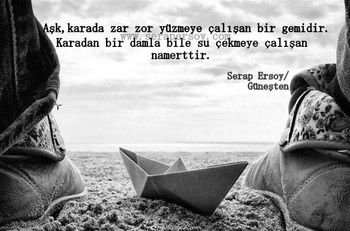 ''Aşk Gemidir''  Serap Ersoy (Ruhum Güneşten) www.serapersoy.com