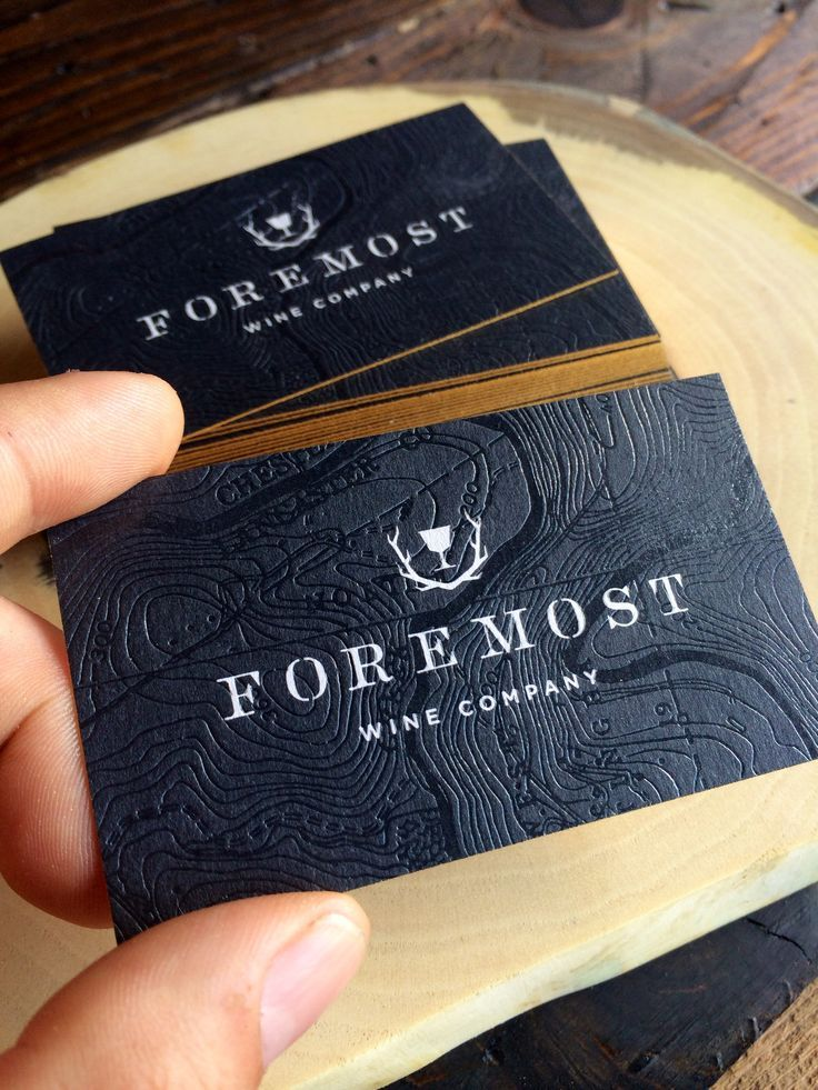 Business Cards // Branding & Identity >>  Foremost