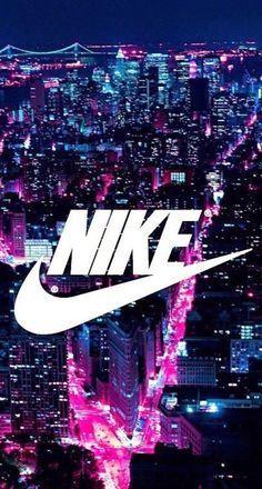 ville, Nike, rose, Tumblr, tapisserie