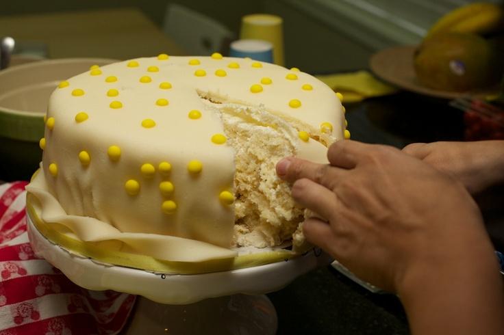Torta de piña con crema | En mi cocina hoy