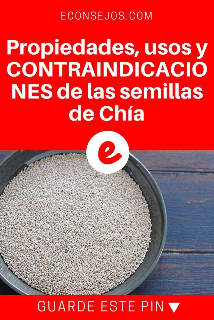 Contraindicaciones de la semilla de chia para adelgazar