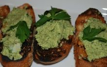 Crostini with Two Toppings