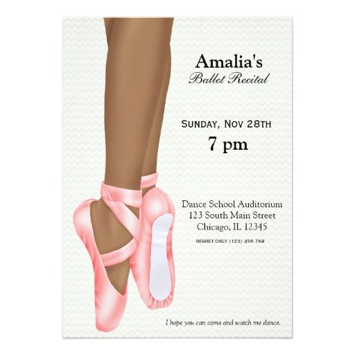 84 best images about Dance Ballet Party Invitations – Shoe Party Invitations