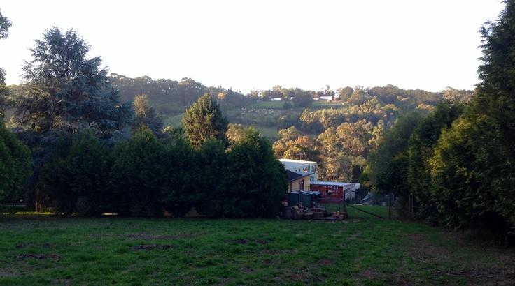 Lovely light on the hills