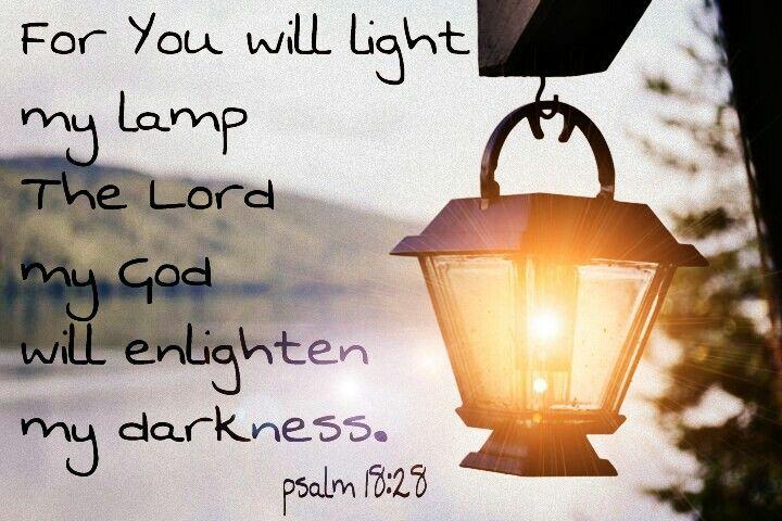 light/psalm18:28