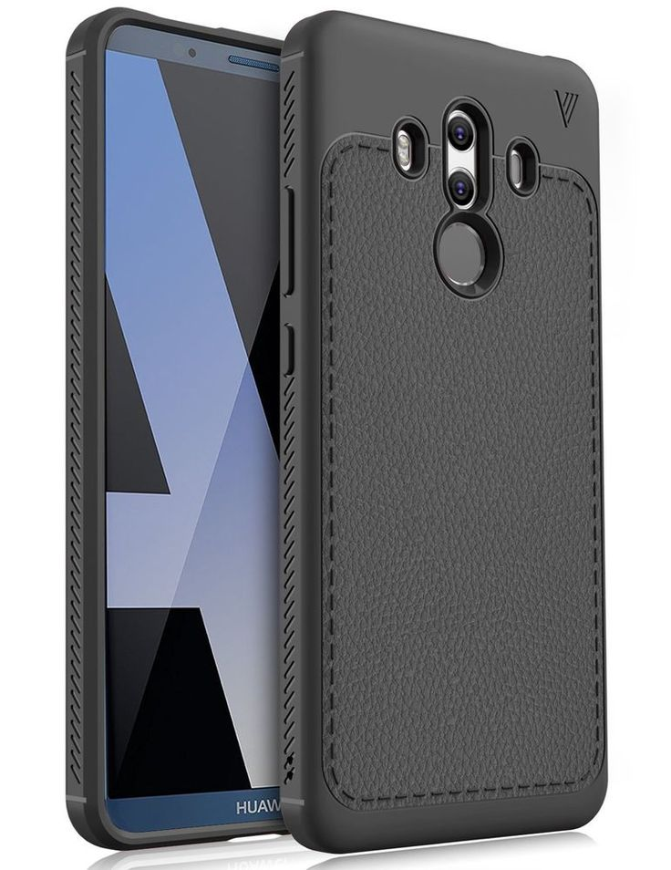 Huawei Mate 10 Pro Case Slim Soft Flexible TPU Protective Back Cover Black Grip #HuaweiMate10Pro